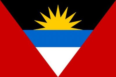 ANTIGUA AND BARBUDA - MINI FLAG 22.5cm x 15cm